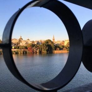 vue depuis Triana, Séville