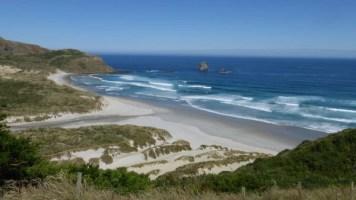 Sandfly Bay, Otago Peninsula, Nouvelle Zélande