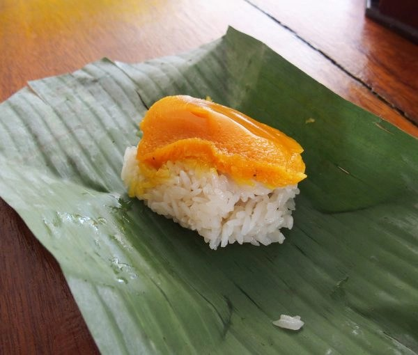 sticky rice, mama cooking, thailand
