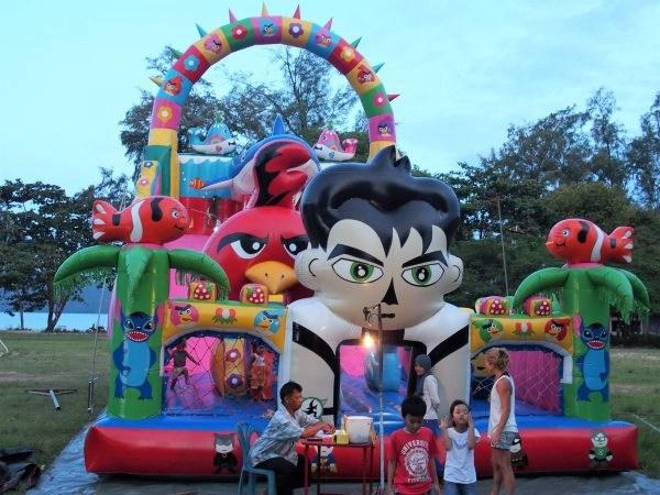 fête forraine Koh Jum, Thailande