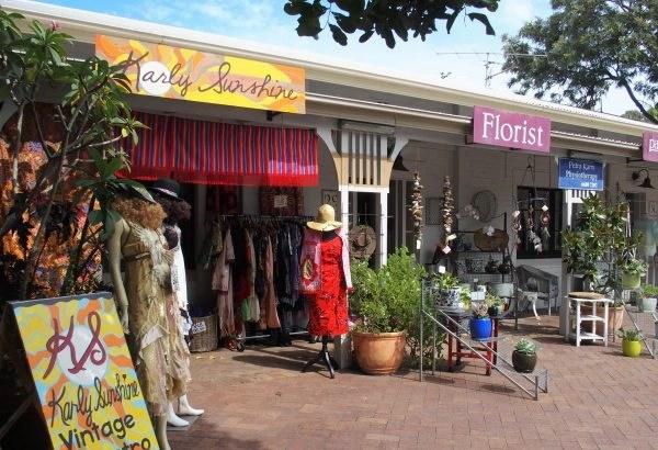 quelques boutiques à Byron Bay
