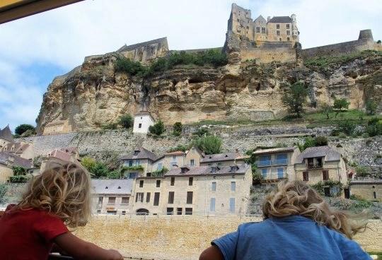ballade en gabarre Dordogne
