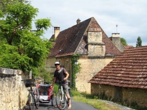 piste cyclable Castelnaud la chapelle, Perigord