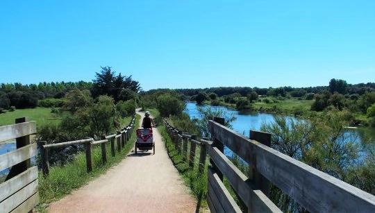 piste cyclable olonne sur mer