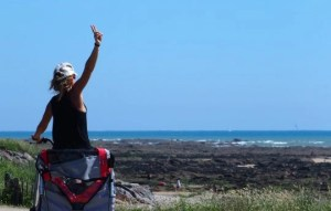 piste cyclable plage de la paracou