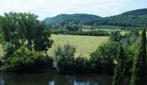 vue depuis le village de Beynac et Cazenac