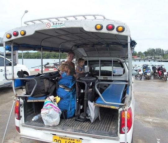 voyager en thailande avec des enfants