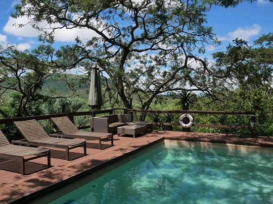 Three tree hill lodge - piscine