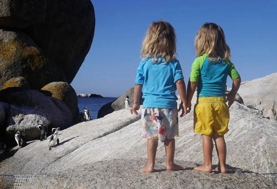Cape town avec enfants
