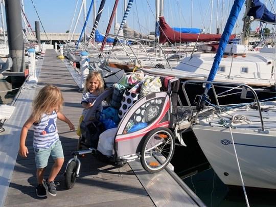organisation bateau avec enfants