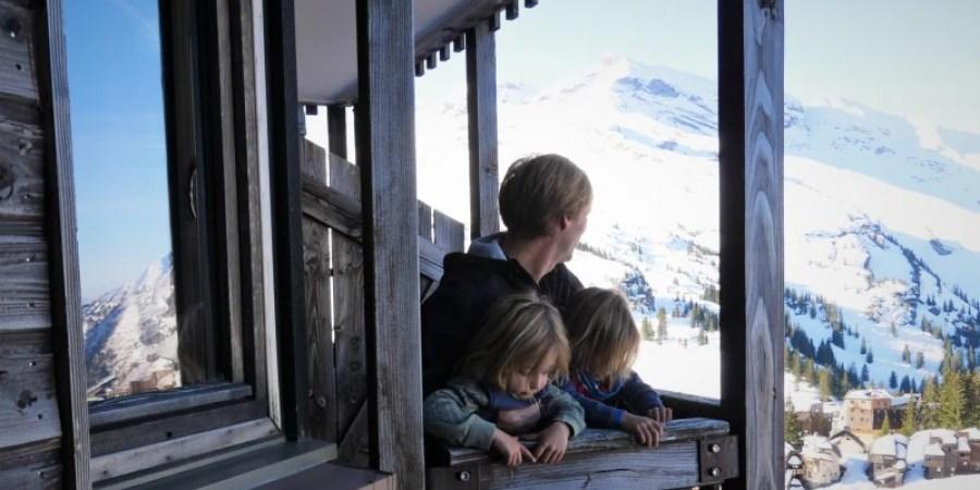 premiere fois au ski en famille