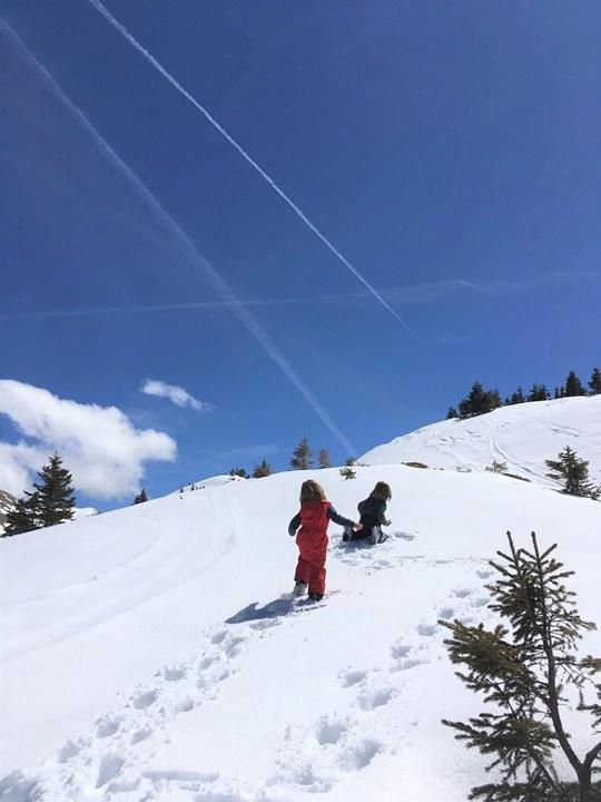 première fois au ski en famille