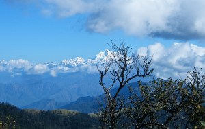 View from Tiger hills Darjeeling