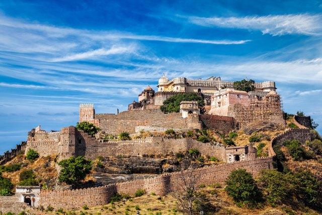 Kumbhalgarh fort full view