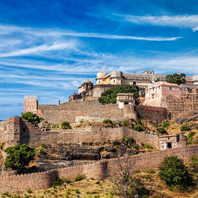 Kumbhalgarh fort full view