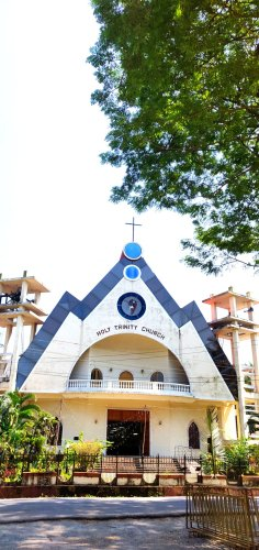 Modern church in south Goa