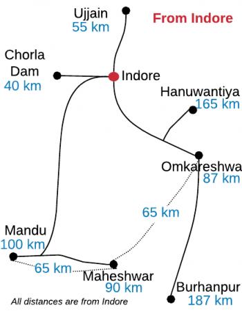 madhya pradesh itinerary indore
