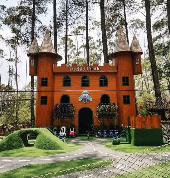 review orchid forest cikole
