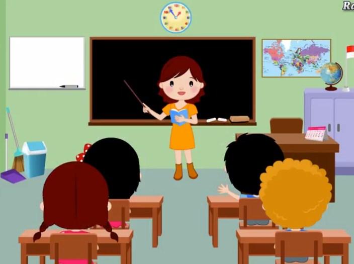 Gambarkan ruang kelas favorit kamu dengan benda-benda yang kamu ingin ada di dalamnya!