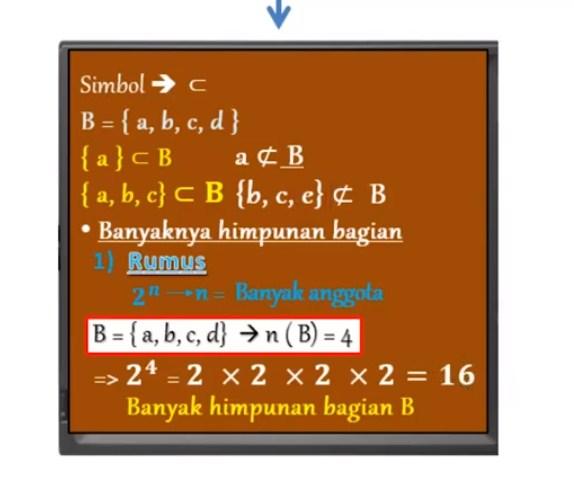 Diketahui P = {Bilangan prima yang kurang dari 13}, tuliskan semua anggota himpunan bagian dari P