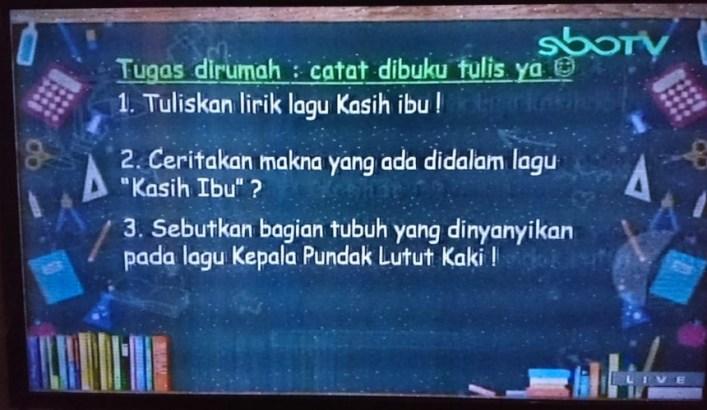 Sebutkan bagian tubuh yang dinyanyikan pada lagu Kepala Pundak Lutut Kaki!