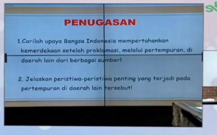 Carilah upaya Bangsa Indonesia mempertahankan kemerdekaan setelah proklamasi melalui pertempuran di daerah lain dari berbagai sumber!