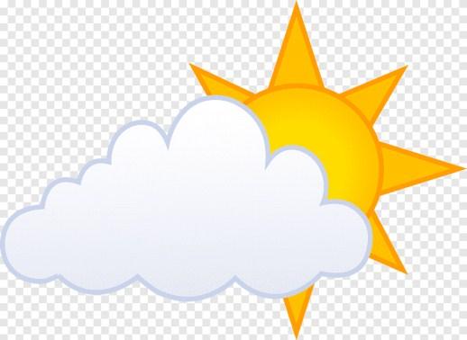 gambar matahari dan awan