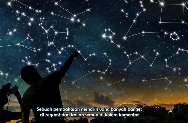Mengapa rasi bintang sangat mudah dipelajari polanya jika berada di tempat yang minim polusi cahaya?