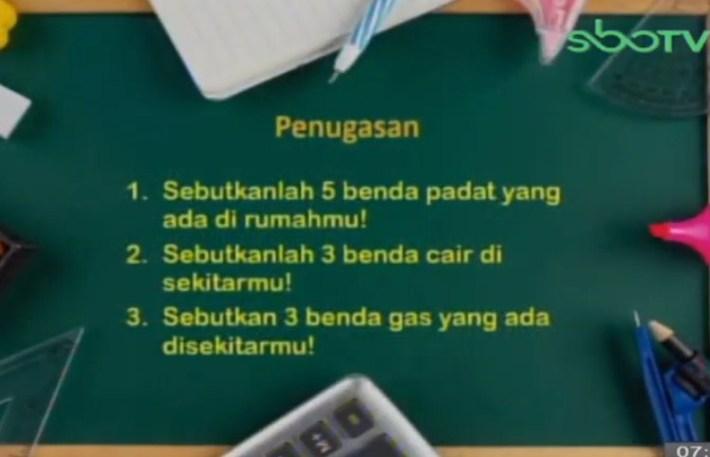 Soal dan Jawaban SBO TV 14 September SD Kelas 3