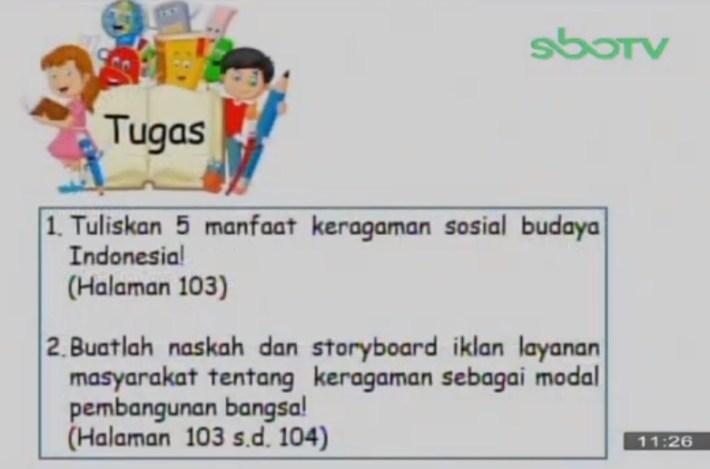 Soal dan Jawaban SBO TV 21 September SD Kelas 5