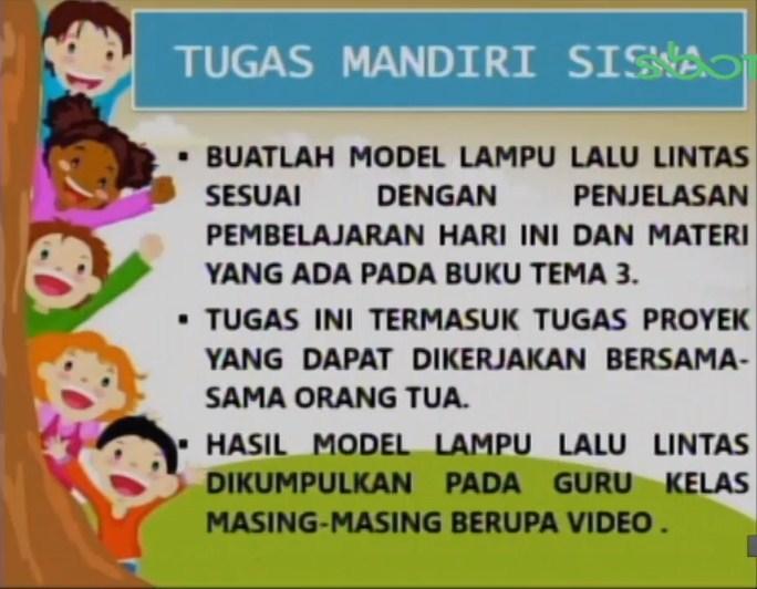 Soal dan Jawaban SBO TV 14 September SD Kelas 6