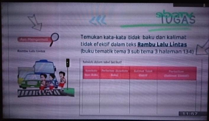 Soal dan Jawaban SBO TV 30 September SD Kelas 6