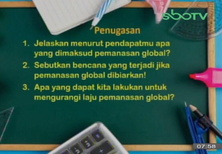 Soal SBO TV 5 Oktober 2020 Kelas 3