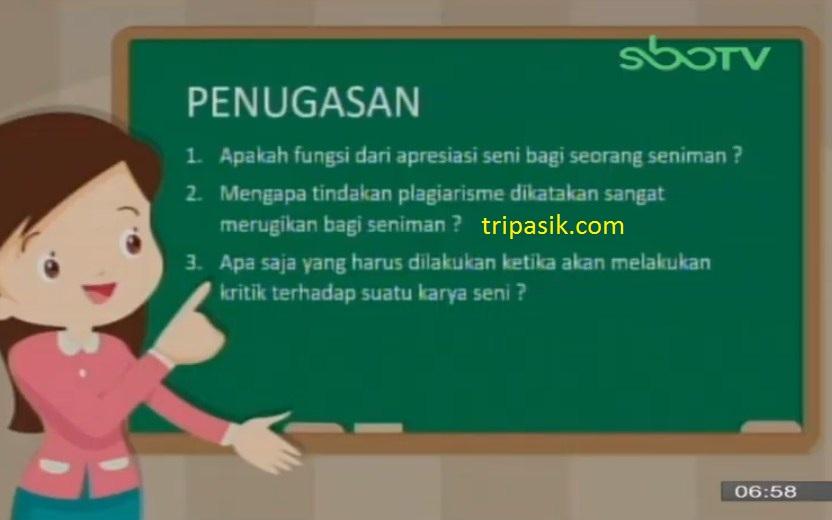 Soal dan Jawaban SBO TV 23 Oktober SD Kelas 4