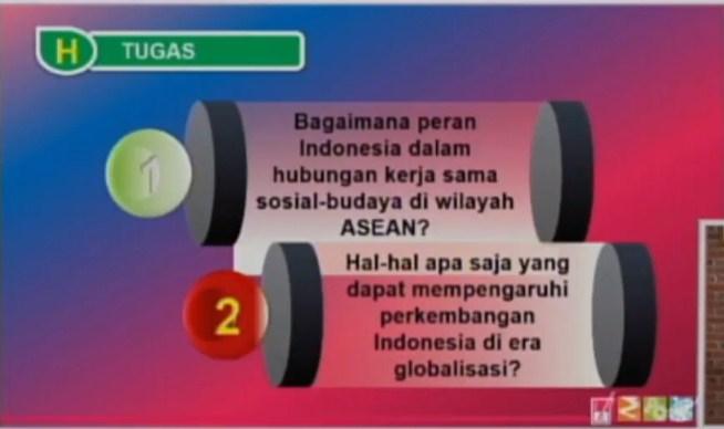 Soal dan Jawaban SBO TV 9 Oktober SD Kelas 6