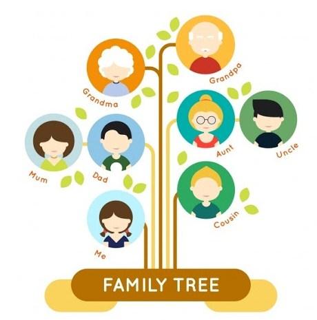 Contoh Pohon Keluarga