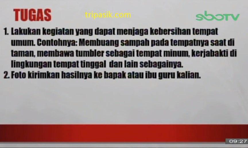 Soal dan Jawaban SBO TV 26 November 2020