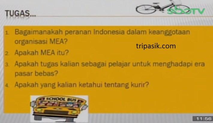 Soal dan Jawaban SBO TV 26 November SD Kelas 6