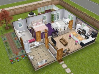The Sims Freeplay Houses tripaspoy
