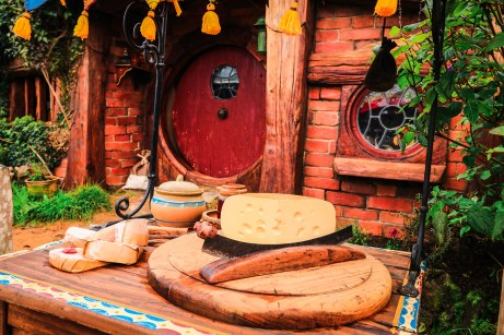 Du faux fromage, Hobbit Hole, Hobbiton Movie Set Tour, Matamata