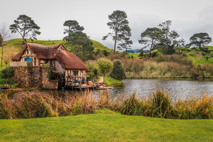 Hobbit Movie Set, Moulin, Matamata