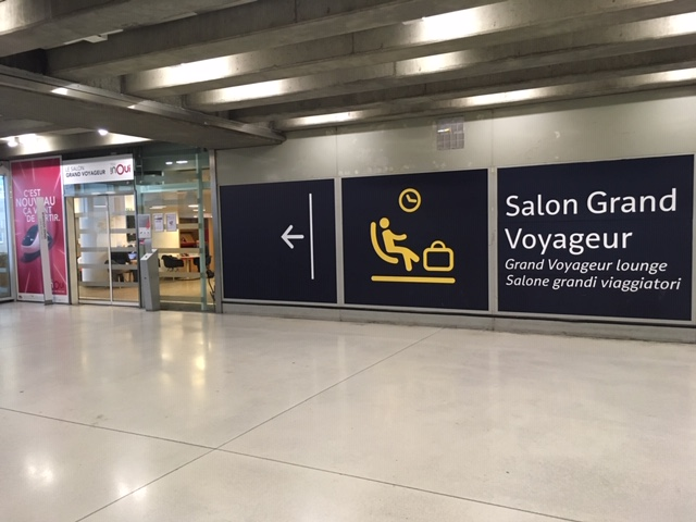 PHOTOS  Salon Grand Voyageur lounge at Paris Gare de Lyon  Trip By Trip