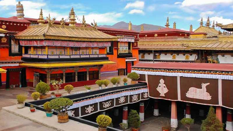 famous Buddhist temple in Jokhang
