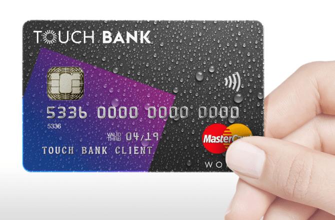 Кредитная карта TOUCH Bank: Бесплатное снятие наличных в любом банкомате мира!