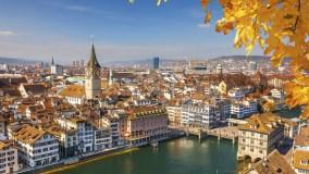 В Швейцарию в октябре - в Цюрих из Петербурга за 8 900 рублей с KLM!