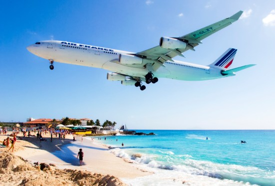 Aeroporto Princess Juliana, Caribe