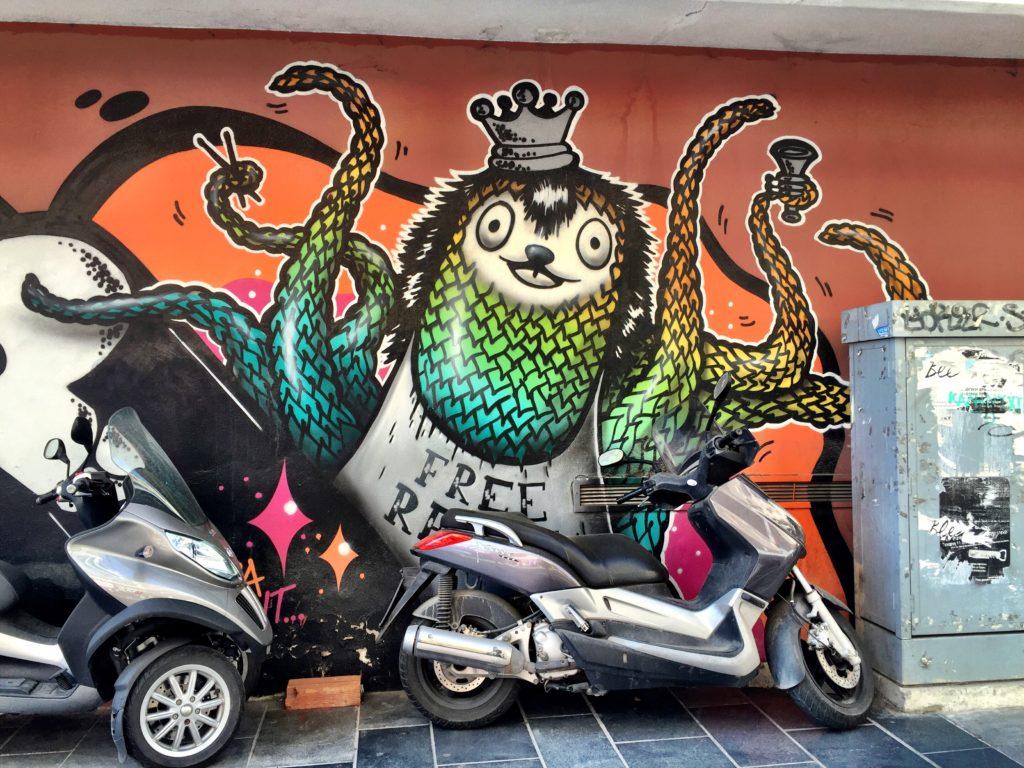 street art of Thessaloniki