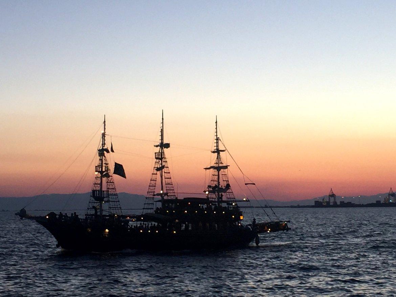 boat Thessaloniki