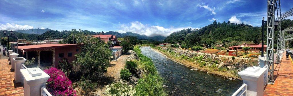 Boquete River Rio Caldera Panorama