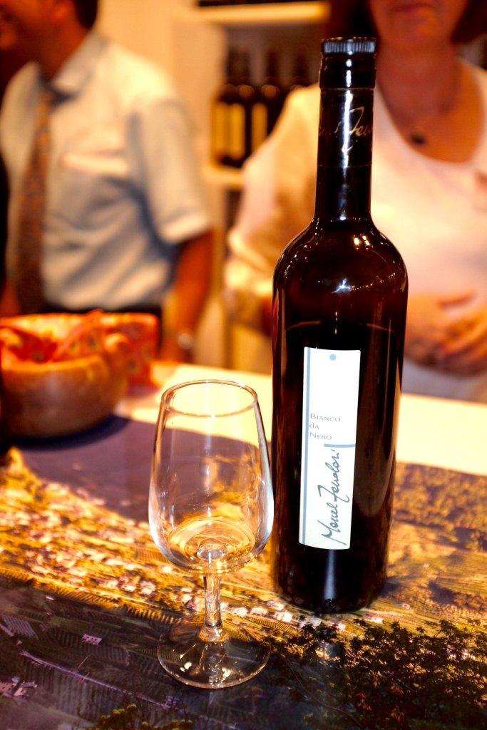 Bianco da Nero Federweiss Biodinamico Weinmesse Basel